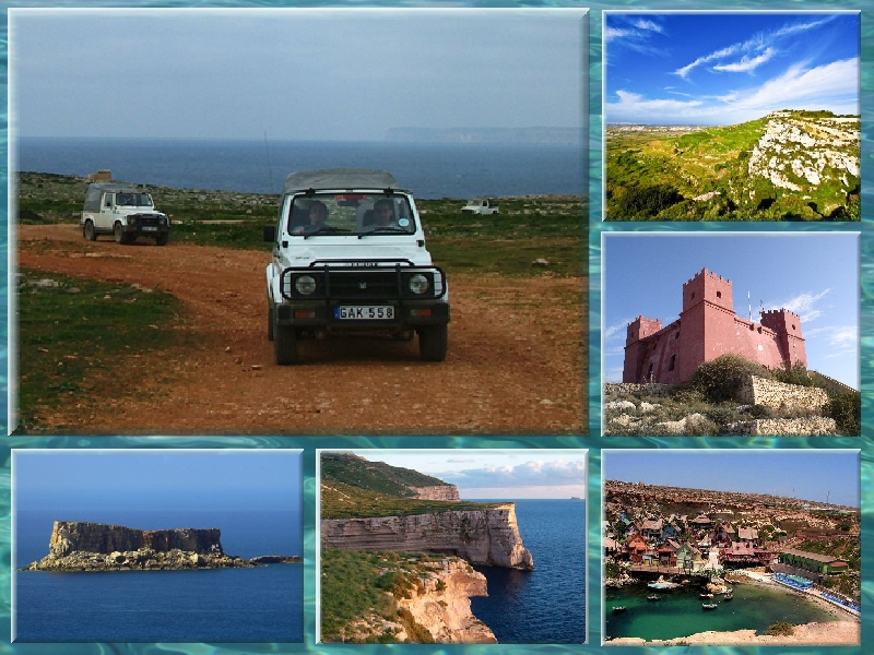 Safari en Jeep - Gozo