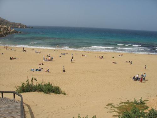 Strandbesuch in Malta