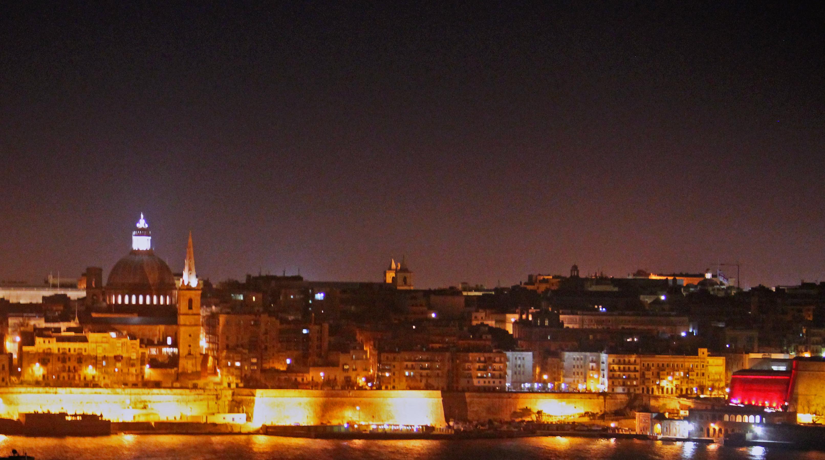 Night tour through Valletta, Mosta and Mdina