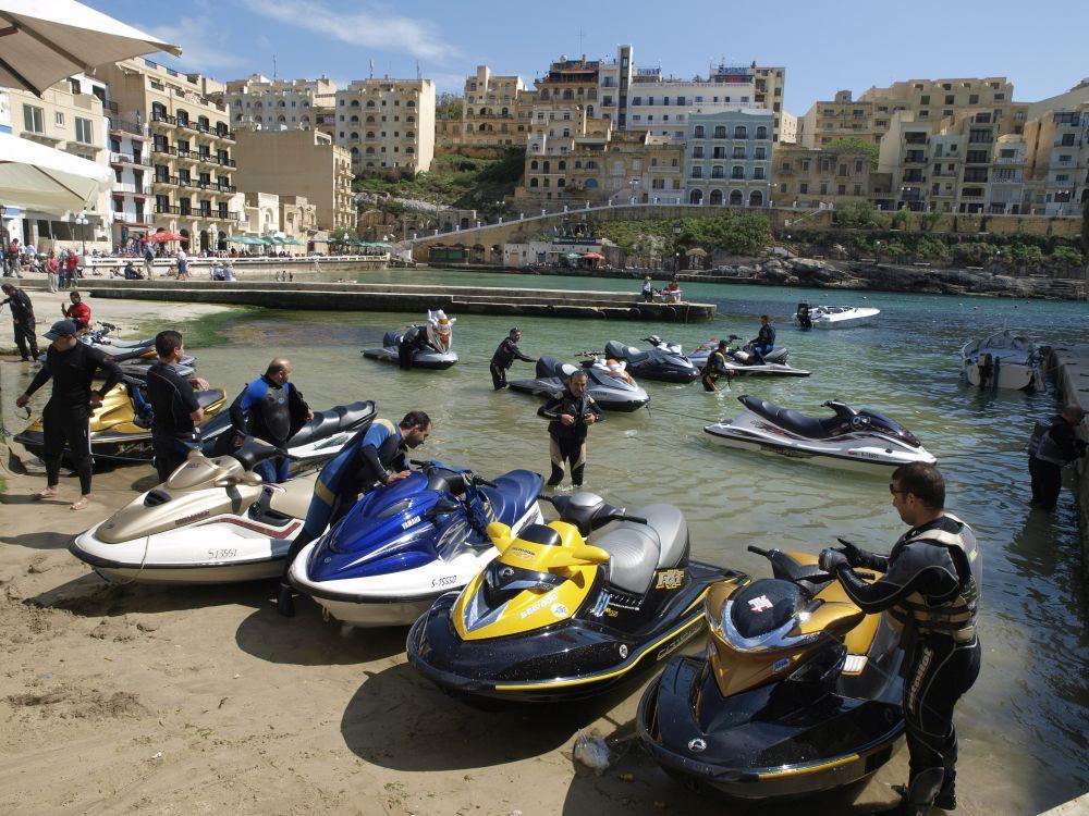 Jet Skiing in Malta
