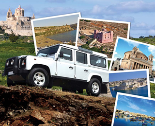 Defender Malta Jeep Safari
